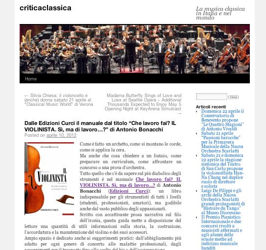 CriticaClassica