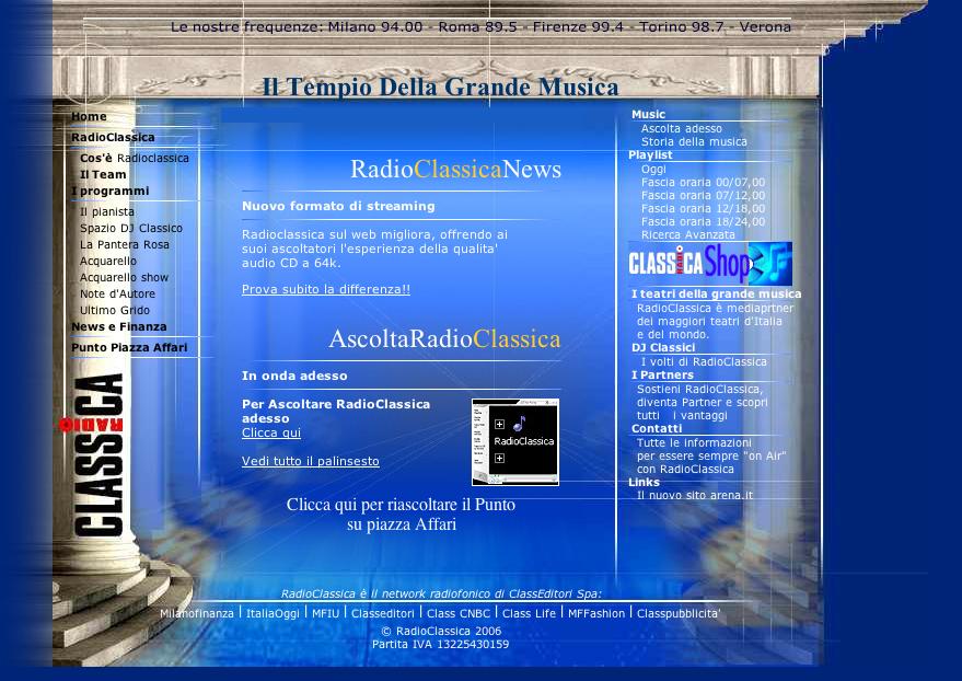 Intervista con Radio Classica