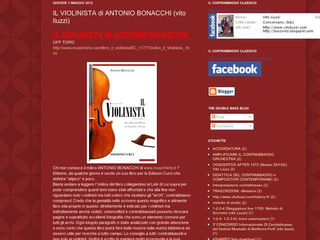 Vito Liuzzi, contrabbassista