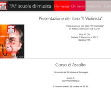 Scuola di musica FAF